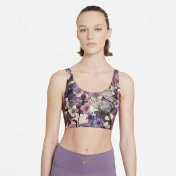 Nike Swoosh Strappy Floral Bra offers at R 699,9