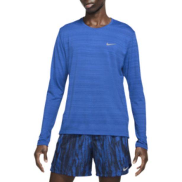 Men's Nike Dri-Fit Miler Blue Run Top offers at R 519,95