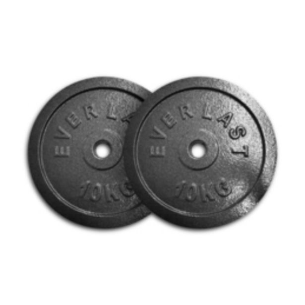 Everlast 2 x 10kg Weight Plates offers at R 759,95