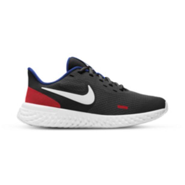 Junior Grade School Nike Revolution 5 Black/Red/White Shoe offers at R 649,95