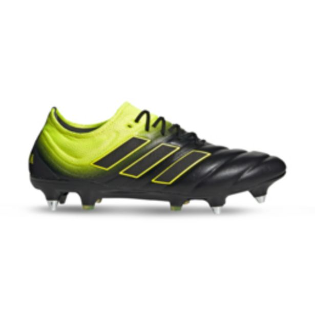 Men's adidas Copa 19.1 SG Black/Yellow Leather Boots offers at R 1649,95
