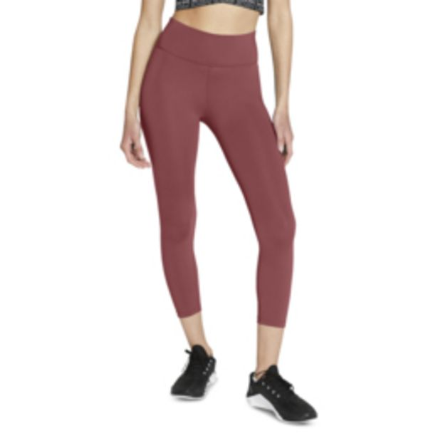 Women's Nike One Mid-Rise Rust Crop Leggings offers at R 519,95