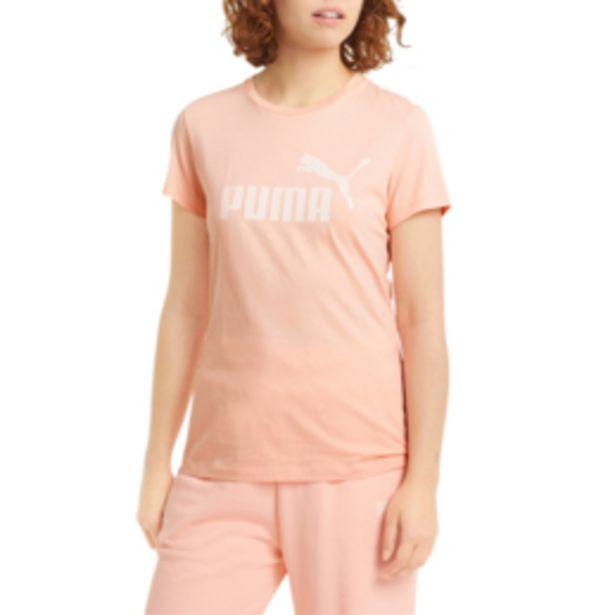 Women's Puma Essential Logo Apricot Blush Tee offers at R 219,95