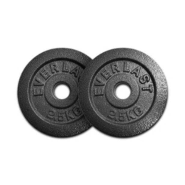 Everlast 2 x 2,5kg Weight Plates offers at R 189,95