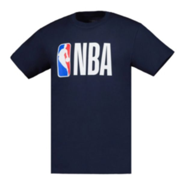 Men's NBA Icon Logo Navy Tee offers at R 199,95