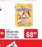Goldi Frozen Mixed Chicken offers at R 68,99