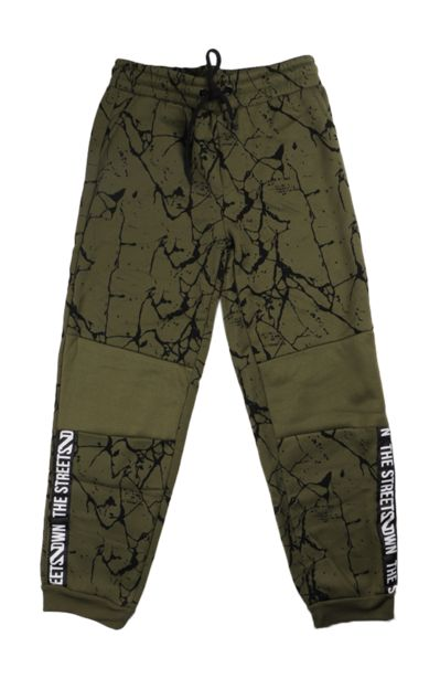 Printed Jogger - Olive offers at R 63,75