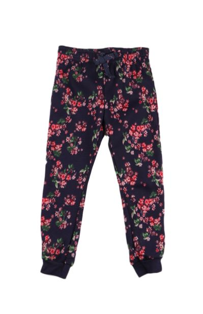 Flower Printed Jogger - Navy offers at R 46,75