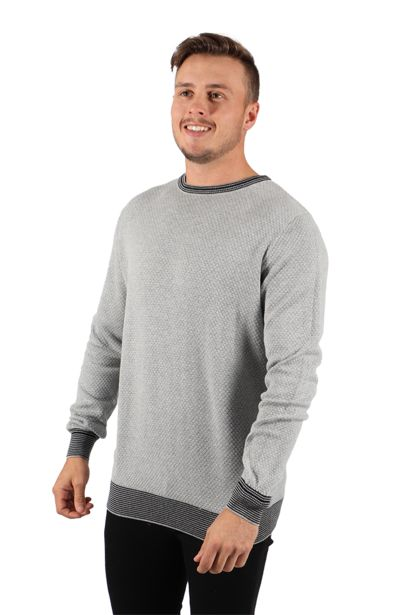 Textured Sweater - Grey offers at R 136