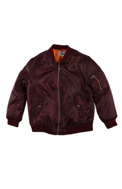 Bomber Jacket - Maroon offers at R 148,75