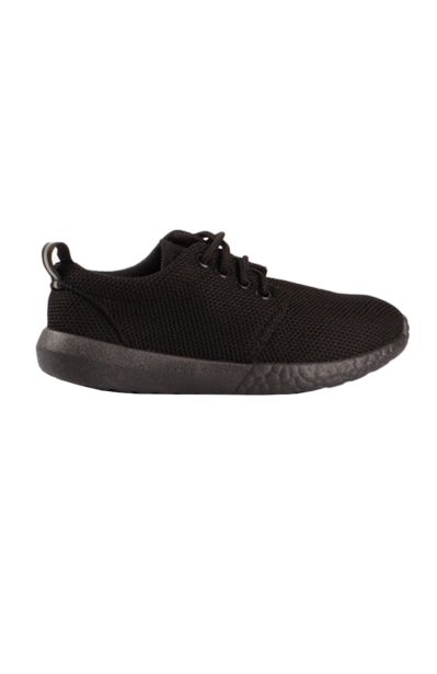 Lace Up Sneakers - Black offers at R 80