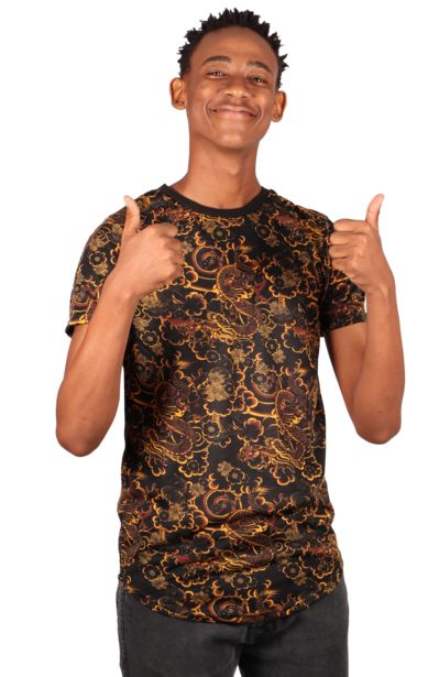 Dragon Printed T-Shirt offers at R 65