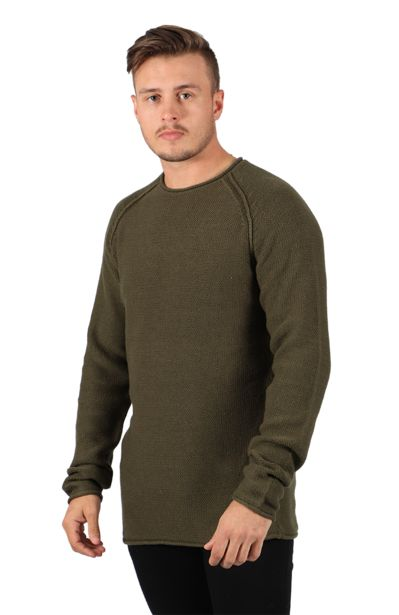 Textured Sweater - Olive offers at R 136