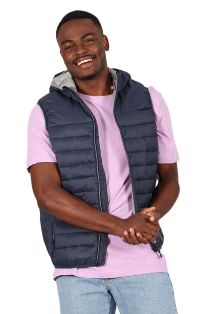 Sleeveless Puffer Jacket - Navy offers at R 114,75