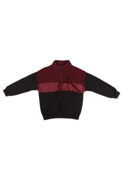 Track Top - Burgundy/Black offers at R 72,25
