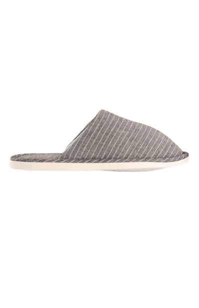 Pin Stripe Slipper - Grey offers at R 55,25