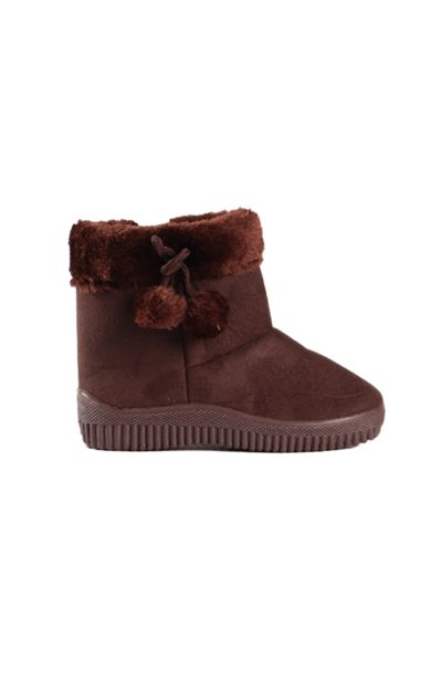 Fluffy Boots - Brown offers at R 119,99
