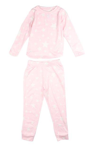 Fleece Sleep Set - Pink offers at R 68