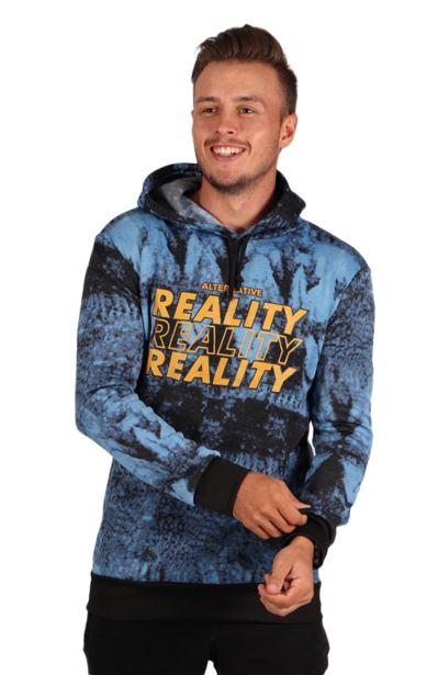 Tie-Dye Hoody - Blue offers at R 80,75