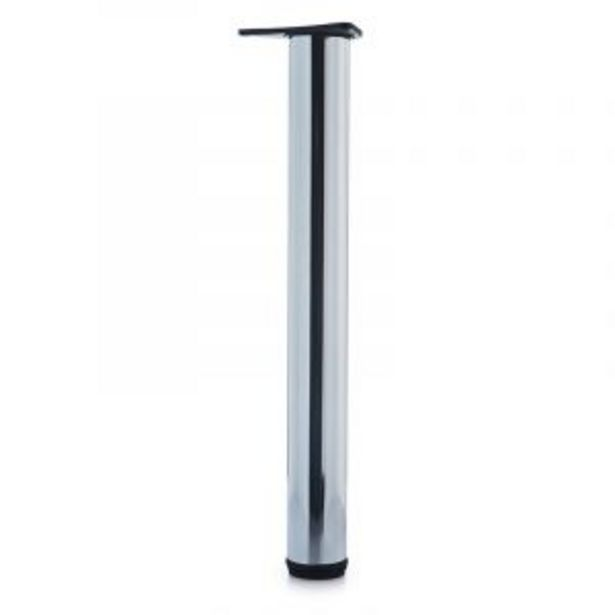 Office Leg, H710mm x 76mm, Chrome Plated offers at R 99