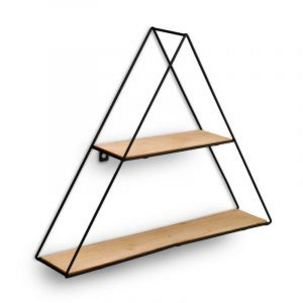 Display Shelf, Triangle, Black offers at R 129