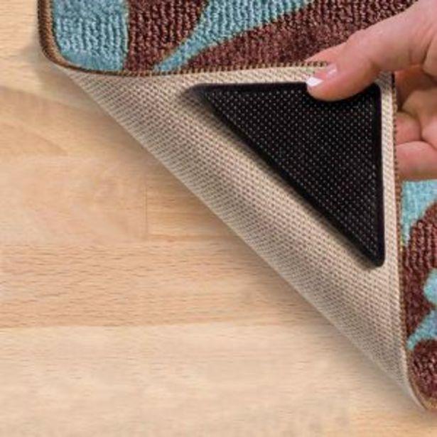 Floor Mat Non-Slip Corners, 4 Pieces offers at R 19