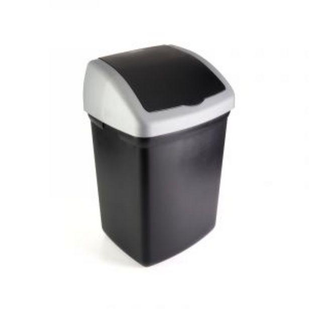 Addis Flip Top Bin, Black, 32L offers at R 149