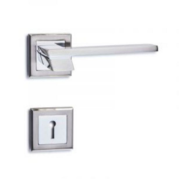 Orford On Square Rose, Brushed Satin Nickel offers at R 259