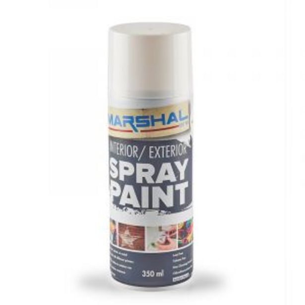 Marshal Spray Paint, Clear Lacquer, 350ml offers at R 45