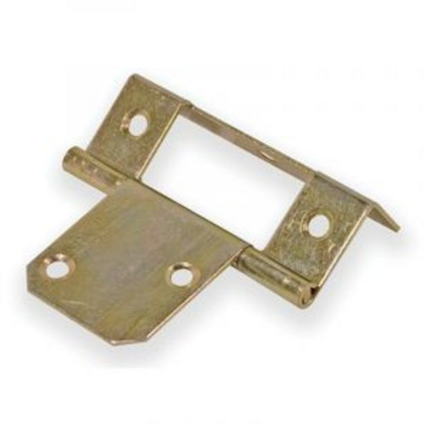 No 8 Wardrobe Hinge Yellow Passivated offers at R 3
