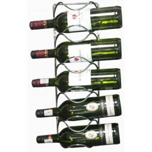 5 Bottle Wine Holder, Chrome Plated offers at R 140