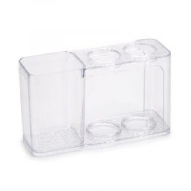 Perspex Toothbrush Holder, Clear offers at R 25