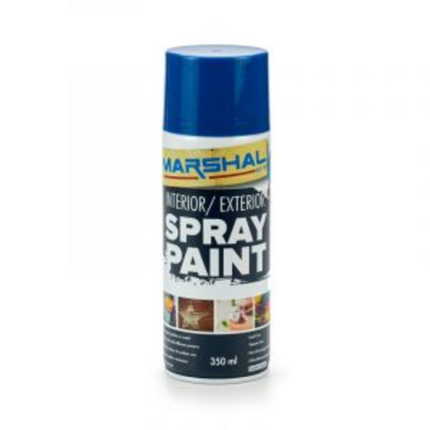 Marshal Spray Paint, Royal Blue, 350ml offers at R 45