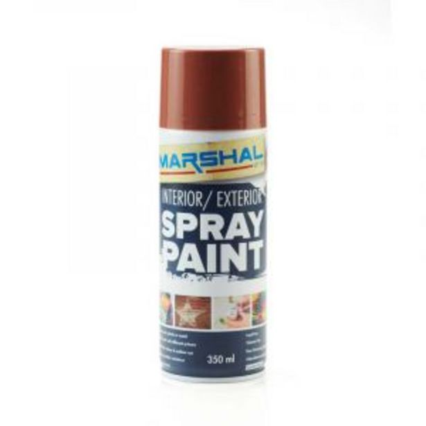 Marshal Spray Paint, Brown, 350ml offers at R 45
