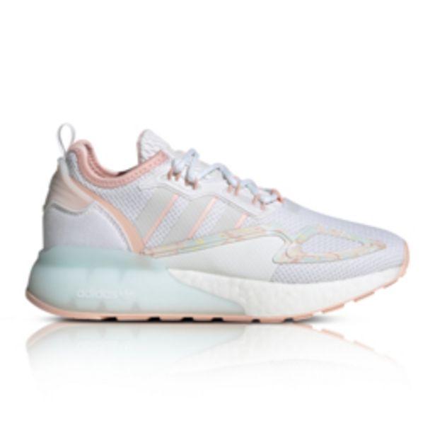 Adidas Originals Junior ZX 2K Boost White/Pink Sneaker offers at R 1539