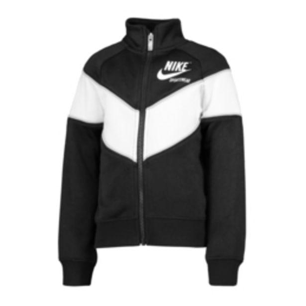 Nike NSW Girls Heritage Full Zip Black Sweat Top offers at R 399