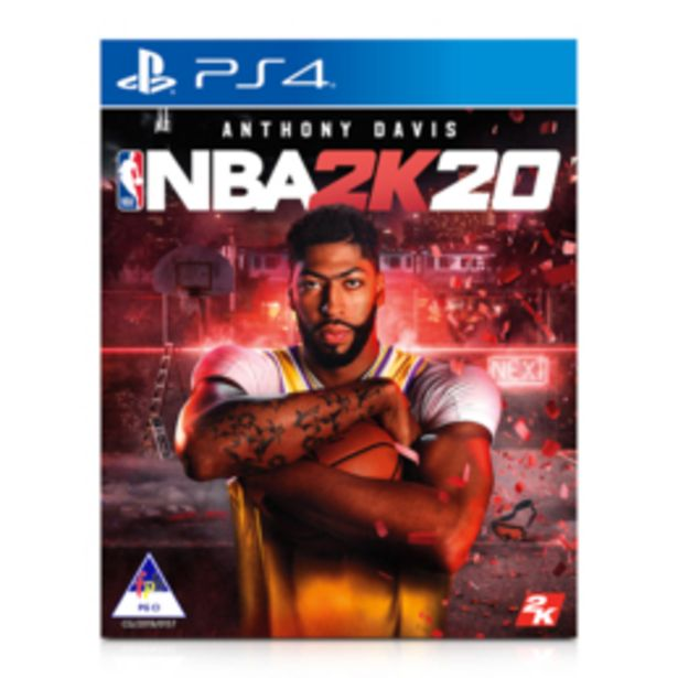 Playstation 4 NBA 2K20 Game offers at R 799