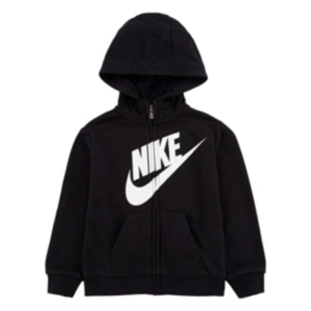 Nike Kids Futura Fleece Terry Black Full Zip Hoody offers at R 339