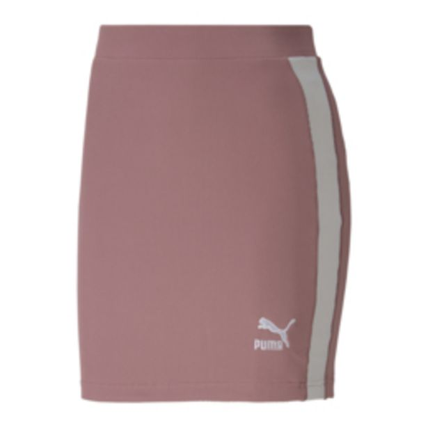 Puma Women's Ribbed Pink Skirt offers at R 449