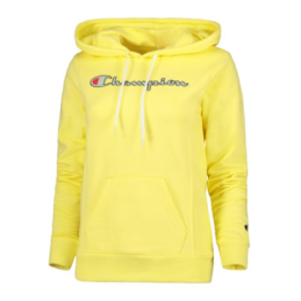 Champion Women's Yellow Hoody offers at R 599