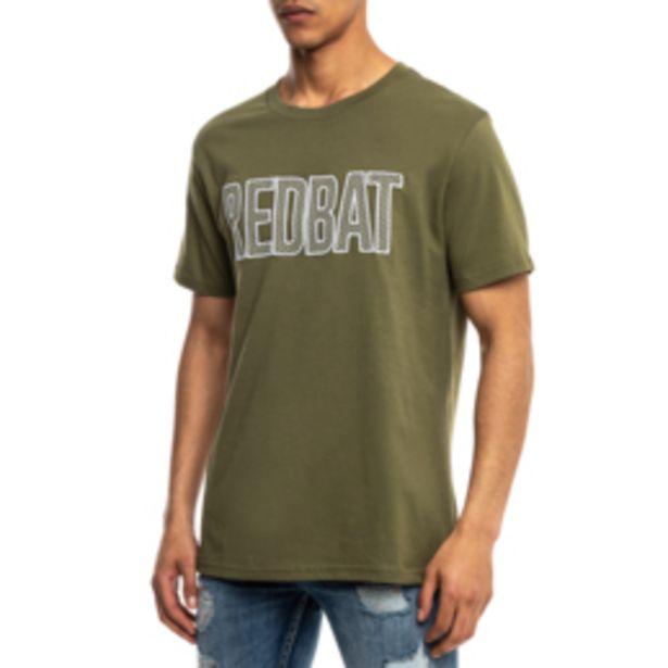 Redbat Men's Graphic Green T-Shirt offers at R 129