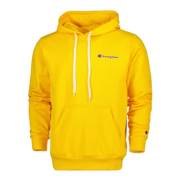 Champion Men's Yellow Hoody offers at R 599