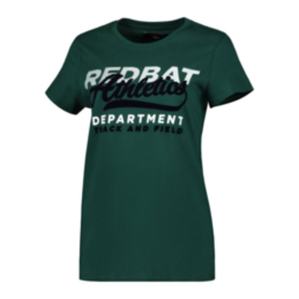 Redbat Athletics Women's Green T-Shirt offers at R 129