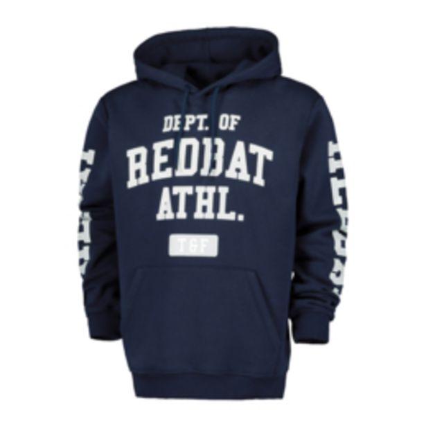 Redbat Athletics Men's Navy Graphic Hoodie offers at R 299