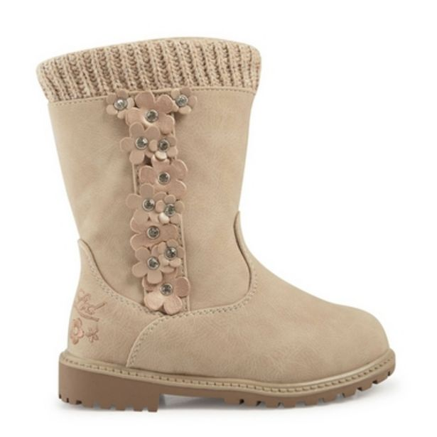 Girls Ecru Worker Boots offers at R 390