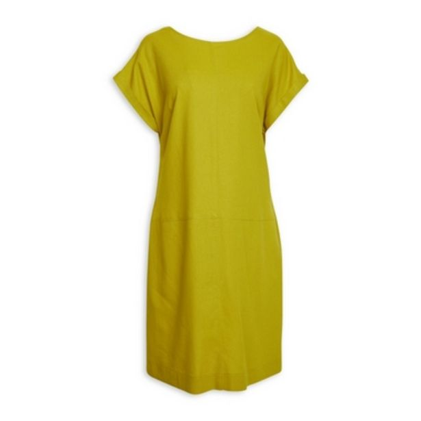 Chartreuse Linen Dress offers at R 550