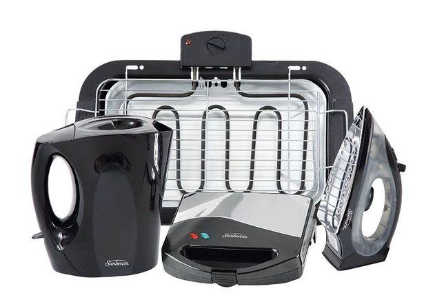 Sunbeam 4-piece appliance pack offers at R 1299,99