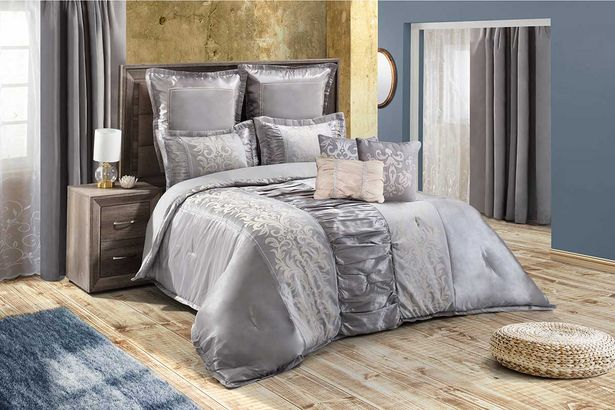 Samantha 12-piece Deluxe combo set (Queen) - Silver offers at R 3799,99