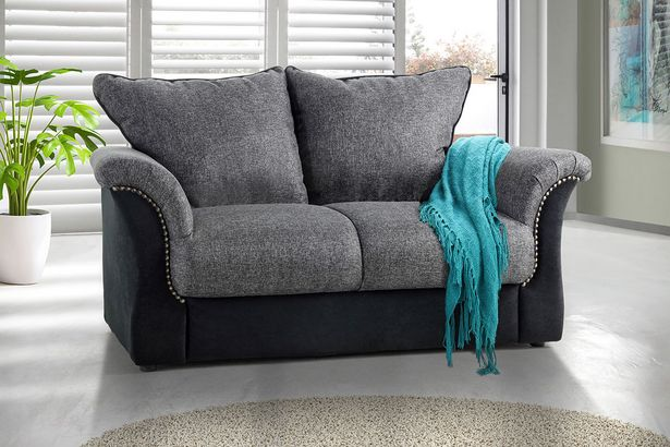 Jessie 2-seater couch - Grey offers at R 2999,99