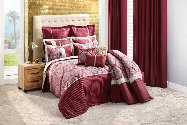 Cleopatra 12-piece Deluxe combo set (Queen) - Wine offers at R 3999,99